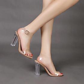 Giày cao gót 5 phân, 7 phân quai trong