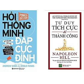Combo 2 Cuốn Sách:  Hỏi Thông Minh Đáp Cực Đỉnh + Tư Duy Tích Cực Để Thành Công