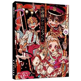 Album ảnh Photobook A4 anime Jibaku Shounen Hanako-kun Ác quỷ trong nhà xí tặng ảnh Vcone