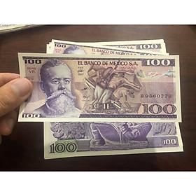 Tiền cổ Mexico 100 Pesos sưu tầm