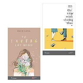 Combo Thương Thương (2 Cuốn) - Tặng Kèm Sổ Tay Tự Thương Lấy Mình