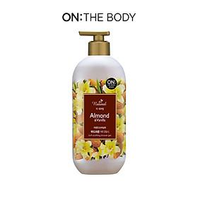 Sữa tắm On: The Body the Natural Almond & Vanilla 500g - Hương Hạnh nhân & Vani
