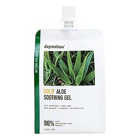 Gel Dưỡng Ẩm Thải Độc Săn Chắc Da Nha Đam Tinh Thể Vàng Daymellow Gold Aloe Soothing Gel (300Gr)