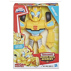 Đồ Chơi Robot Mega Mighties Transformer E4131 - Mẫu 2 - Bumblebee - Màu Vàng