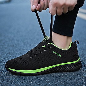 Giày thể thao thoải mái thoáng khí giày thường giày chạy lưới hợp thời trang