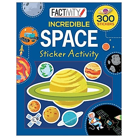 Factivity Balloon Sticker Activity Book - Space
