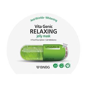 Mặt Nạ Giấy BNBG Vita Genic Relaxing Jelly Mask (Xanh lá) 30ml