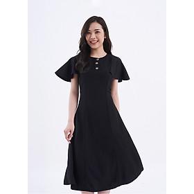 Đầm ôm tay cánh tiên đen - Darkly Angie Dress Maybi