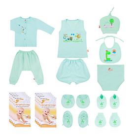 Combo 61 món sơ sinh Mintuu dành cho bé (0-3 tháng)