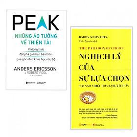 Combo 2 cuốn sách về kĩ năng hay: Những Ảo Tưởng Về Thiên Tài + Nghịch Lý Của Sự Lựa Chọn ( Tặng kèm bookmark Phương Đông)