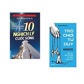 Combo 2 cuốn sách: 10 Nghịch Lý Cuộc Sống + Trò chơi tư duy