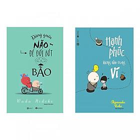 Combo Sách Kỹ Năng Sống: Đừng Quên Não Cho Đời Bớt Bão + Hạnh Phúc Không Nằm Trong Ví (Tặng kèm bookmark thiết kế)