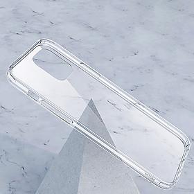 Ốp lưng trong suốt iPhone 12/ 12 Pro/ 12 Pro Max Rock chính hãng