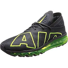 Nike Air Max Flair Mens Running Trainers 942236 Sneakers Shoes (UK 10 US 11 EU 45, Dark Grey Volt 008)