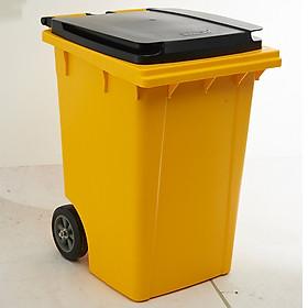 Thùng rác nhựa THOR 190L HORECA TRUST mã 1021YE