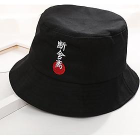Mũ bucket Chữ Hàn (tặng quà tri ân đầu nút bảo vệ dây sạc)