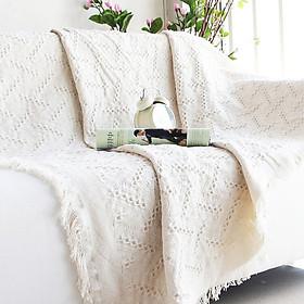 Thảm BUDECOR Sofa, Thảm Trang Trí, Khăn Phủ Sofa Phong cách Bắc Âu