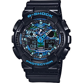 Đồng hồ nam dây nhựa Casio G-SHOCK GA-100CB-1ADR