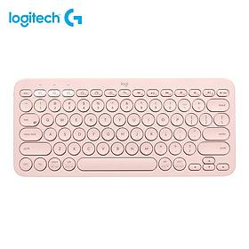 Bàn phím Logitech K380 BT chuyển đổi dễ dàng Tuổi thọ pin 2 năm cho Máy tính, Máy tính bảng, Điện thoại