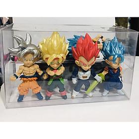 Bộ Mô hình tượng 7 viên ngọc rồng Dragon Ball set 4 Figure cao 11cm
