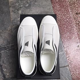 Giày nam da bò cao cấp đễ cao su non đúc GN413 – Giày lười nam mới Hottrend 2021