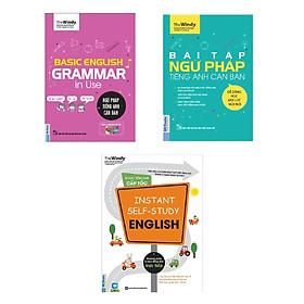 ombo Tự Học Ngữ Pháp Tiếng Anh Cho Người Bận Rộn (Tặng kèm bút chì Kingbooks)