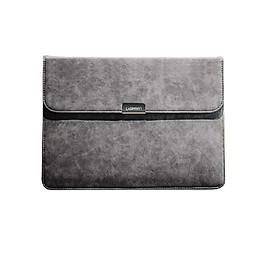 Túi đựng bảo vệ iPad 3 lớp bề mặt da lộn, lót lông chống sốc, chống thấm nước, cho iPad kích thước 9.7 và 12.9 inch, có nắp UGREEN LP187 - Hàng chính hãng
