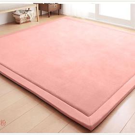 Large Size Carpet Thick Non-slip Tatami Carpet Rug Living Room Bedroom Baby Crawling Pad