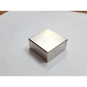 Nam châm viên trắng đất hiếm 35x35x15mm