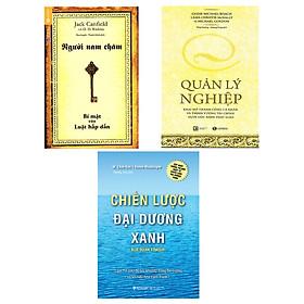 Combo Sách Kĩ Năng Quản Lý Nghiệp (Tái Bản) + Người Nam Châm - Bí Mật Của Luật Hấp Dẫn (Tái Bản) +  Chiến Lược Đại Dương Xanh (Tái Bản 2017)