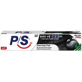 Kem Đánh Răng P/S Trắng Răng Than Hoạt Tính & Tre (230g)