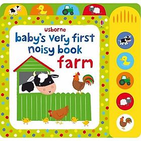 Usborne Baby's veryfirst noisy Book farm