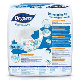 Tã Dán Drypers Wee Wee Dry Newborn NB64 (64 Miếng)-2