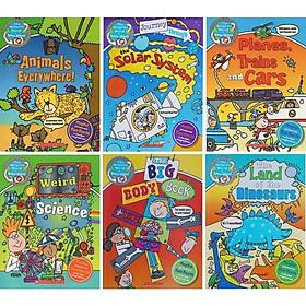 The wonderful world of Simon 6 quyển bé 5-7 tuổi