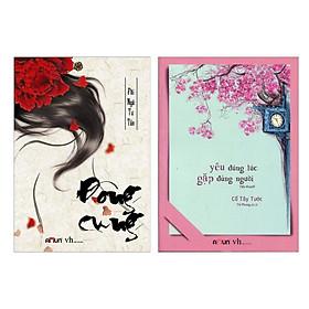 Combo Sách Hay: Đông Cung + Yêu Đúng Lúc, Gặp Đúng Người (Bộ 2 Cuốn Tiểu Thuyết Được Yêu Thích Nhất - Tặng Kèm Bookmark Happy Life)