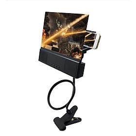 Bộ phóng to màn hình kết nối blutooth trên điện thoại thông minh (Tặng quạt nhưa mini cắm cổng USB- Màu ngẫu nhiên)