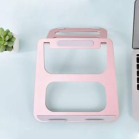 Giá đỡ Aluminum tản nhiệtcho Macbook / Laptophiệu Coteetci Aluminum thiết kế nhôm nguyên khối - Hàng nhập khẩu