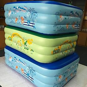 Bể bơi phao cho bé Summer Baby KT 130*85*55CM (tặng kèm bơm điện)