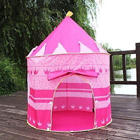 Lều vui chơi hình lâu đài công chúa hoàng tử cho bé