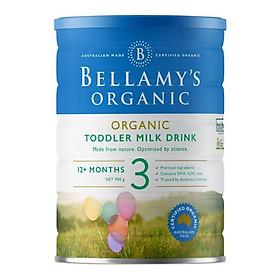 Sữa Bột Bellamy's Organic Số 3 (900g)