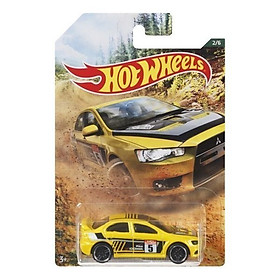 Siêu xe Hot Wheels thể thao BACKROAD RALLY 2008 LANCER EVOLU FYX97/GDG44