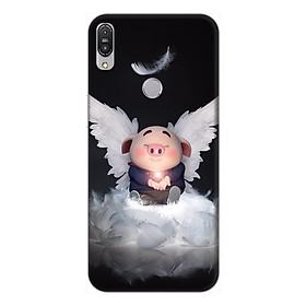 Ốp lưng điện thoại Asus Zenfone Max Pro M1 hình Heo Con Thiên Thần Tình Yêu