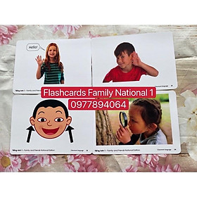 Flashcards Family and Friends 1- National Edition