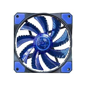 Quạt tản nhiệt 33 bóng đèn led 12cm làm mát cho Case máy tính
