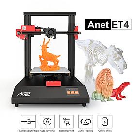 Máy In 3D Khung Kim Loại Màn Hình Cảm Ứng Màu Hỗ Trợ Thẻ Nhớ Anet ET4 (8G) (220x220x250mm)