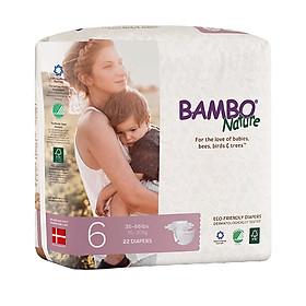 Combo 3 gói Tã Dán Em Bé Hữu Cơ Bambo Nature - gốc Đan Mạch - 16-30kg - XXL22 - 22 miếng-3