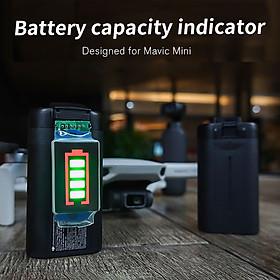 Compatible with DJI Mavic Mini Drone Battery Capacity Indicator Battery Level Display Battery 4-level Led Power Display