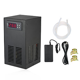 35L 70W Aquarium Chiller Cooling System LCD Display Semiconductor Refrigeration Water Chiller Fish Tank Constant