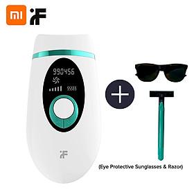 Xiaomi Youpin InFace Professional Depilatory Laser Hair Epilator Permanent Hair Removal IPL 900000 Flash Painless Laser