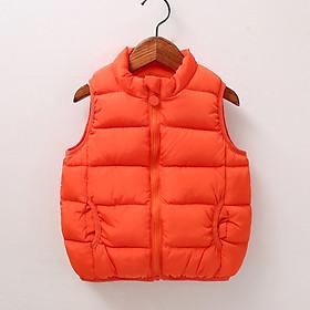 Áo khoác phao gile trẻ em, chất đẹp mềm mại, dày dặn, thoáng khí, nhiều màu cho cả bé trai và gái   MP09